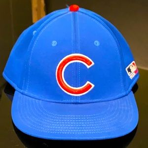 Chicago Cubs baseball fitted hat